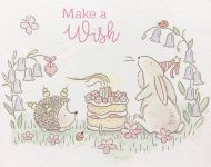 Acorn Woods Make A Wish Clear Stamp Set