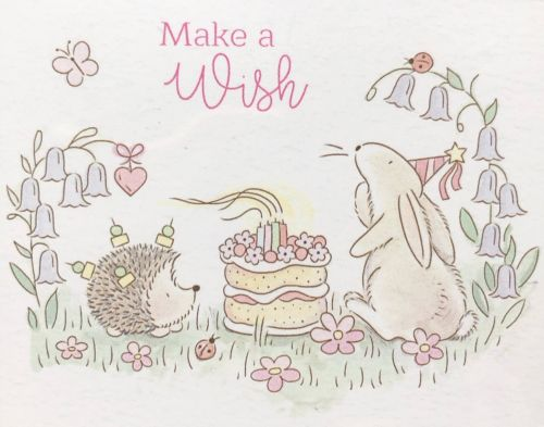 Acorn Woods Make A Wish Clear Stamp Set (OUT OF STOCK)