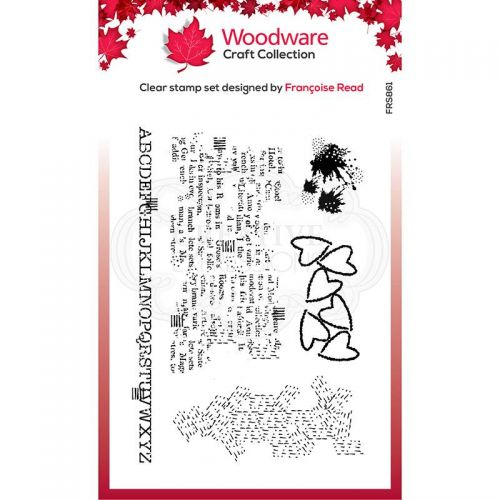 Woodware Additions Clear Stamp Set