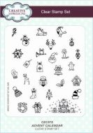 Advent Calendar Clear Stamp Set