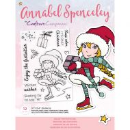 Enjoy The Festivities Christmas Clear Stamp Set