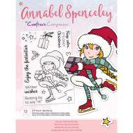 Enjoy The Festivities Christmas Clear Stamp Set