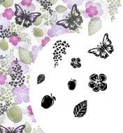 Cardio Majestix Apple Blossom Clear Stamp Set