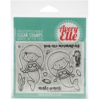 Avery Elle Mermaid Clear Stamp Set