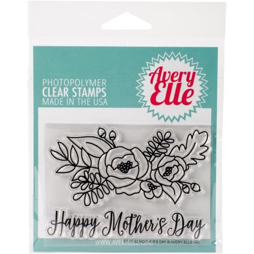 Avery Elle Mothers Day Clear Stamp Set