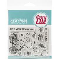 Wheelie Great Clear Stamp Set