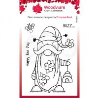 Bee Gnome Clear Stamp Set