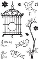 Birdsong Clear Stamp Set (OUT OF STOCK)