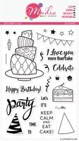 Lets Party Clear Stamp Set