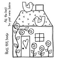 Bless This House Clear Stamp