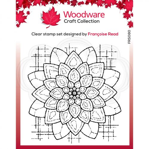Woodware Blossom Clear Stamp