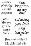 Brightening Your Day Clear Stamp Set