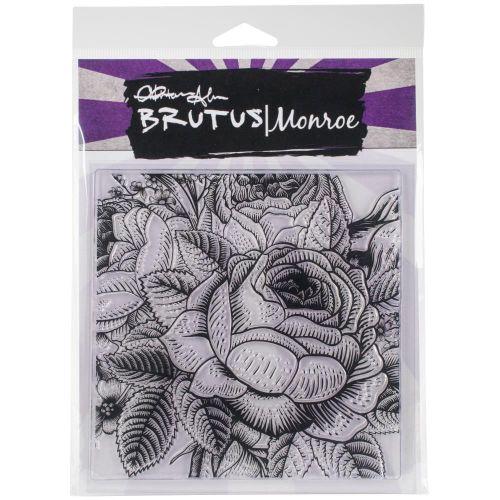 Enchanted Rose Background Stamp