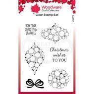 Bubble Mini Baubles Clear Stamp Set