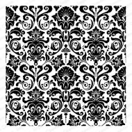 Cling Rubber Background Stamp Damask