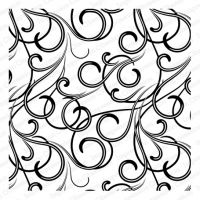 Cling Rubber Background Stamp Wispy