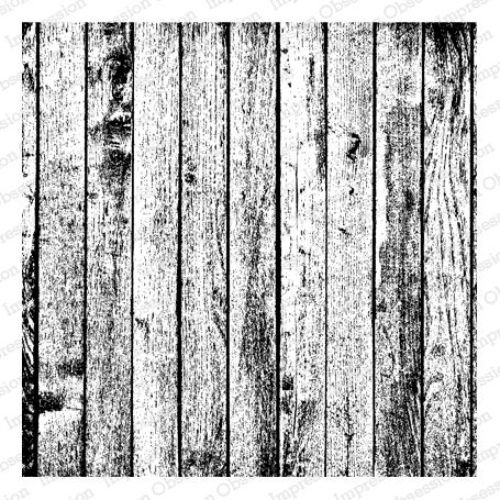 Cling Rubber Background Stamp Wooden Plank