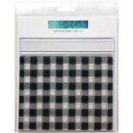 Concord & 9th Tartan Background Stamp Set