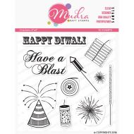 Firework Crackers Clear Stamp Set