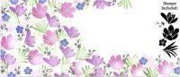 Majestix Crocus Garden Clear Stamp Set