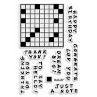 Crossword Clear Stamp