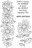 Daisy Chain Clear Stamp Set