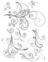 Delicate Flourishes Clear Stamp
