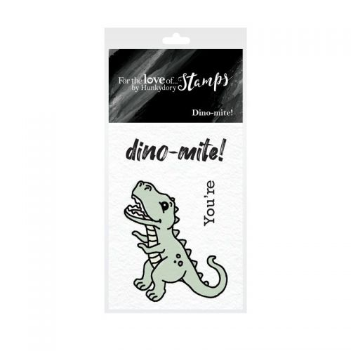 Pocket Sized Puns Dino-Mite Clear Stamp Set