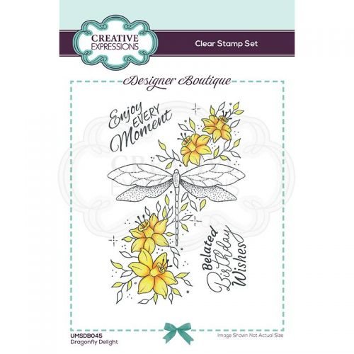 Dragonfly Delight Clear Stamp Set