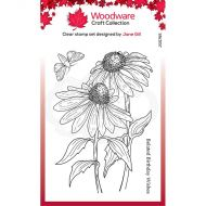 Echinacea and Moth Clear Stamp Set