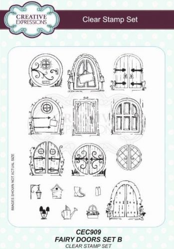 Willowby Woods Fairy Doors Stamp Set