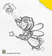 Little Girl Fairy Clear Stamp