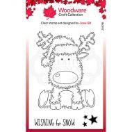 Festive Fuzzies Reindeer Clear Stamp Set