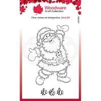Festive Fuzzies Santa Clear Stamp Set