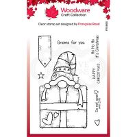 Gnome Gift Clear Stamp Set