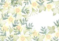 Cardio Majestix Golden Daffodils Stamp Set