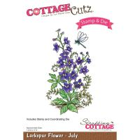 Larkspur Stamp and Die Set