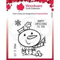 Little Snowman Clear Stamp Set