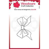 Woodware Mini Big Bow  Clear Stamp