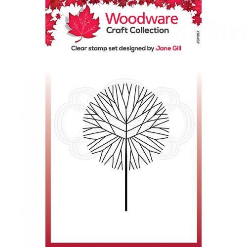 Mini Twiggy Tree Round Clear Stamp