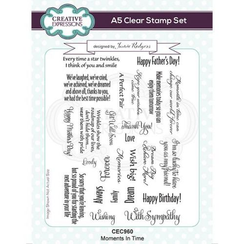 Moments In Time Clear Stamp Set