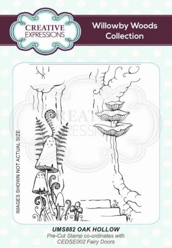 Willowby Woods Oak Hollow Cling Rubber Stamp