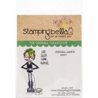 Oddball Gamer Cling Rubber Stamp Set