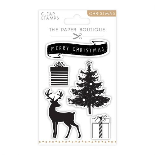 Christmas Icons Clear Stamp Set