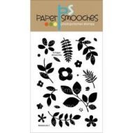 Paper Smooches Botanicals 3 Clear Stamp Set