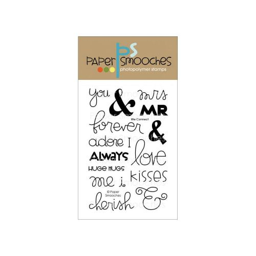 Paper Smooches We Connect Clear Stamp Set