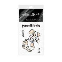 Pocket Sized Puns Pawsitively Wonderful Clear Stamp Set