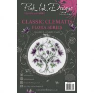Classic Clematis Clear Stamp Set