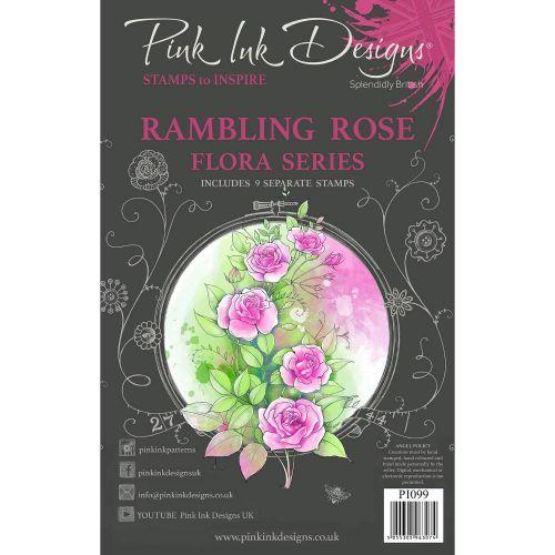 Rambling Rose Clear Stamp Set