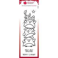 Robin Stack Clear Stamp Set